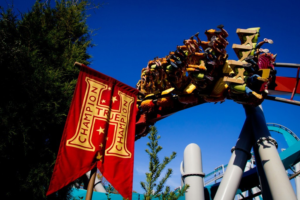 Dragon Challenge in The Wizarding World of Harry Potter - Hogsmeade at Universal Orlando