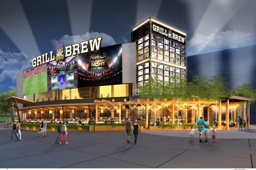 (UNIVERSAL) NBC Sports Grill & Brew at Universal CityWalk