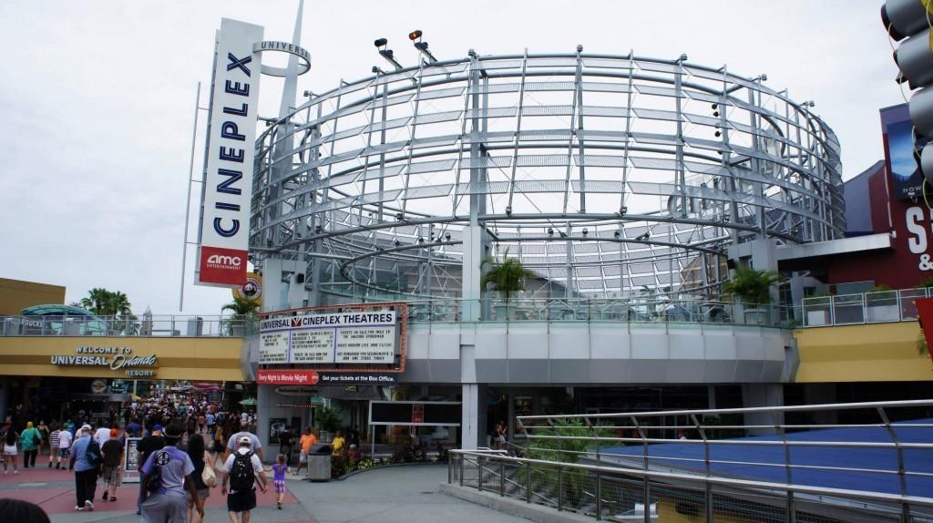 AMC Universal Cineplex 20 with IMAX at Universal Citywalk Orlando.