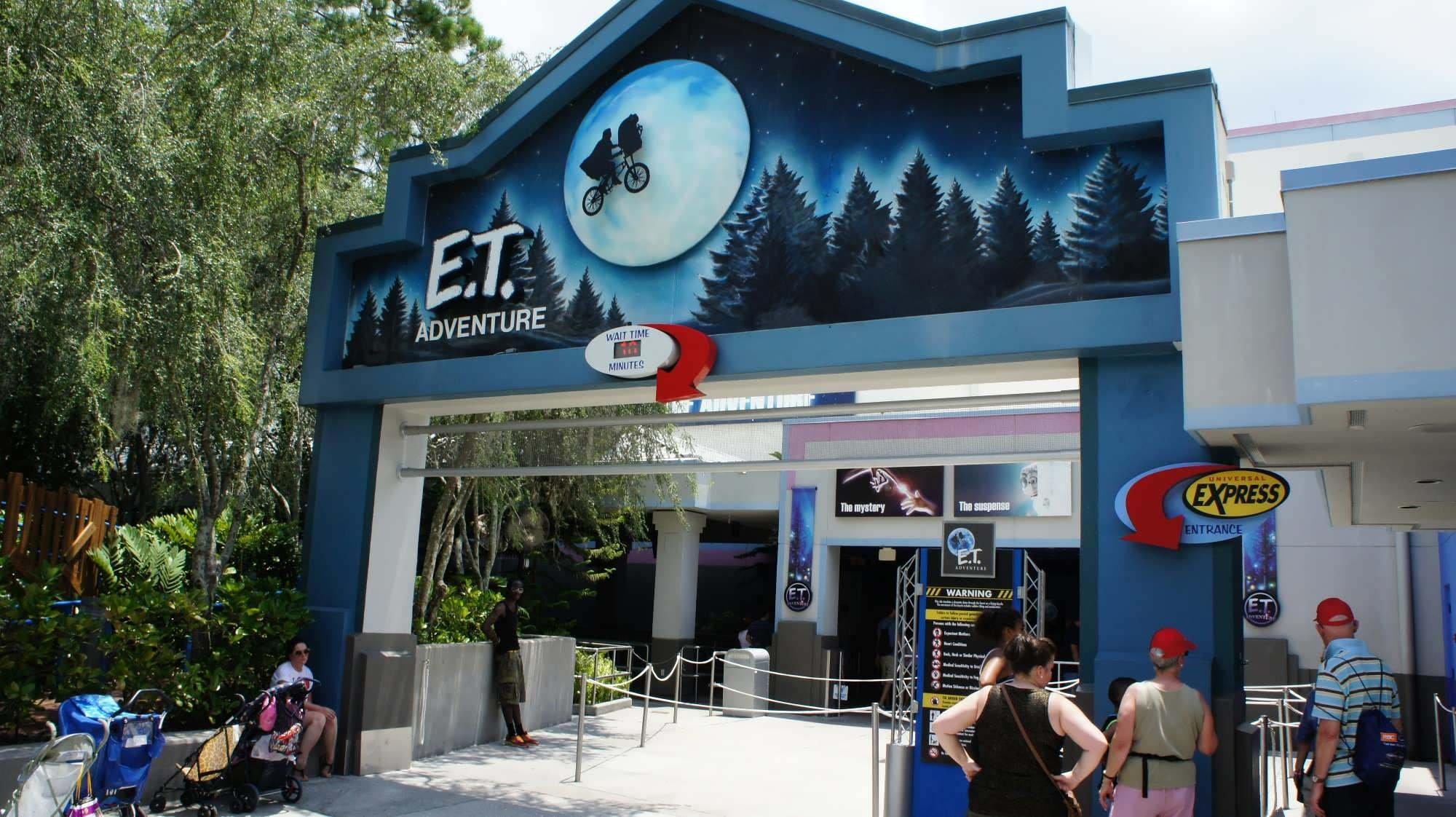 E.T. is one of the Best Attractions at Universal Studios