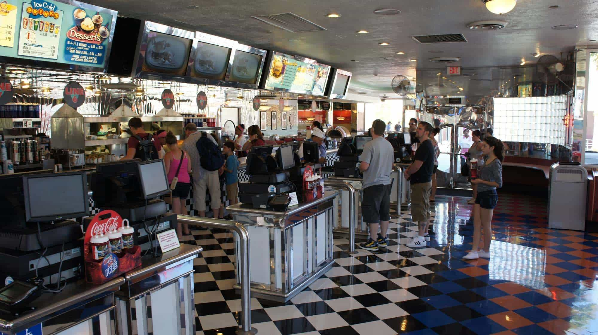 Mel's Drive-In (quick-service) at Universal Studios Florida