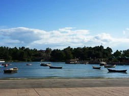 Portofino Bay Hotel Harbor Piazza.