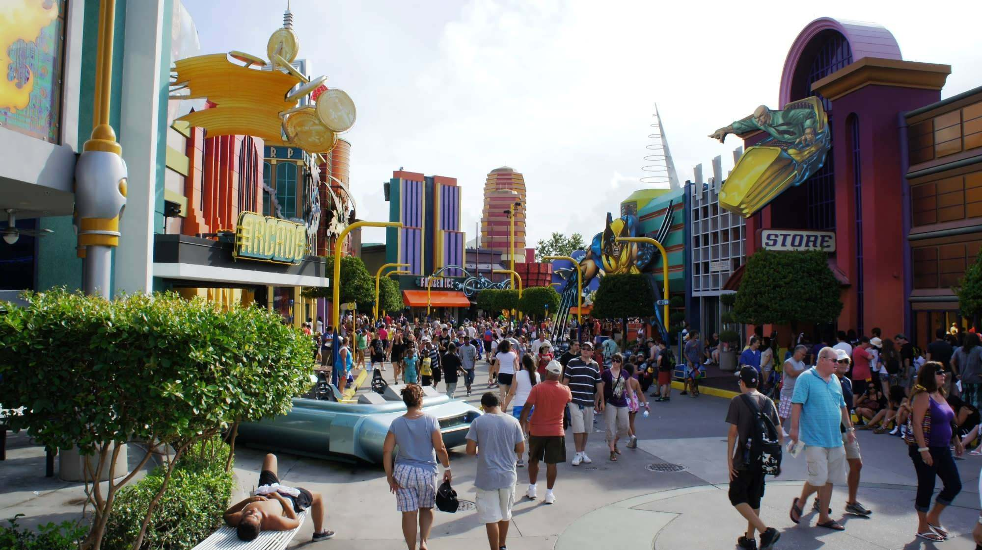 Gotham Island: What Batman's gift shops, carnival games, and nightclub would've looked like at Islands of Adventure