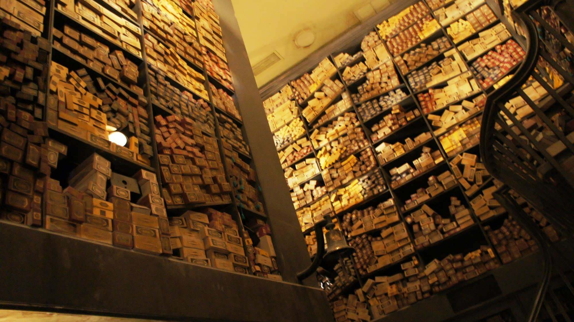 Ollivanders wand collection
