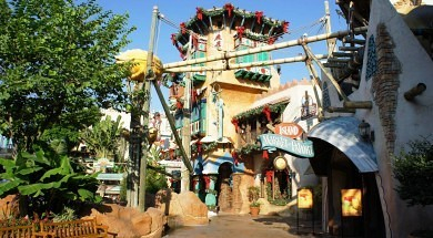 Port of Entry at Universal's Islands of Adventure.