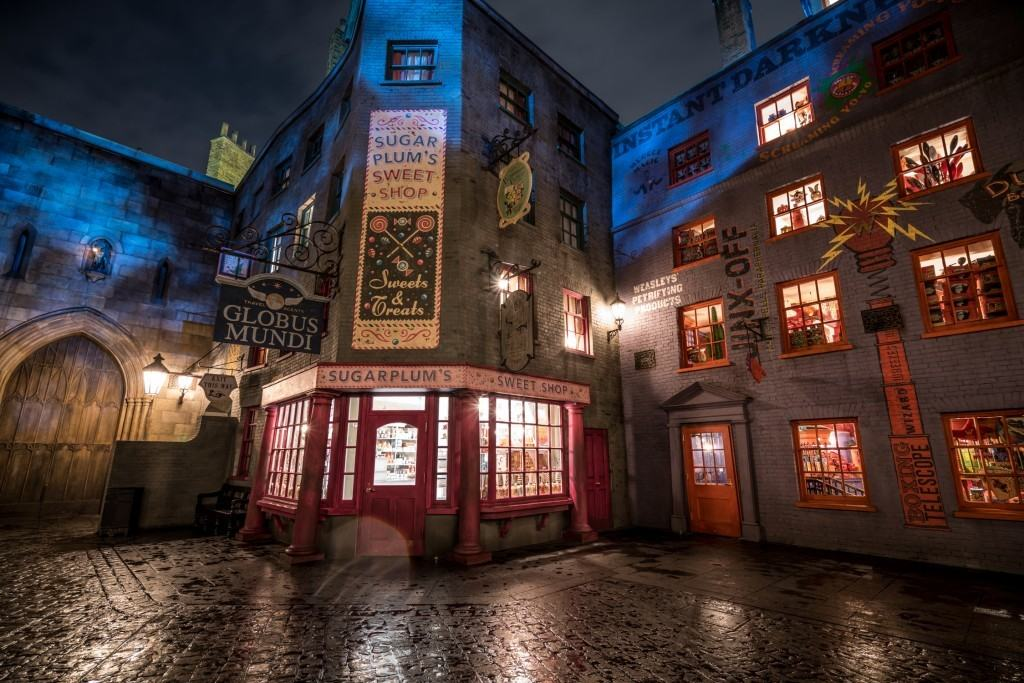 Sugarplum's Sweet Shop at Diagon Alley