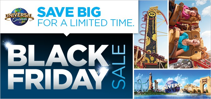 Black Friday Universal Orlando 2015 Deal