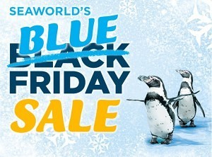 Blue Friday - SeaWorld Logo