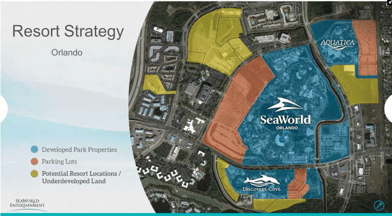The once and future SeaWorld Orlando Resort.