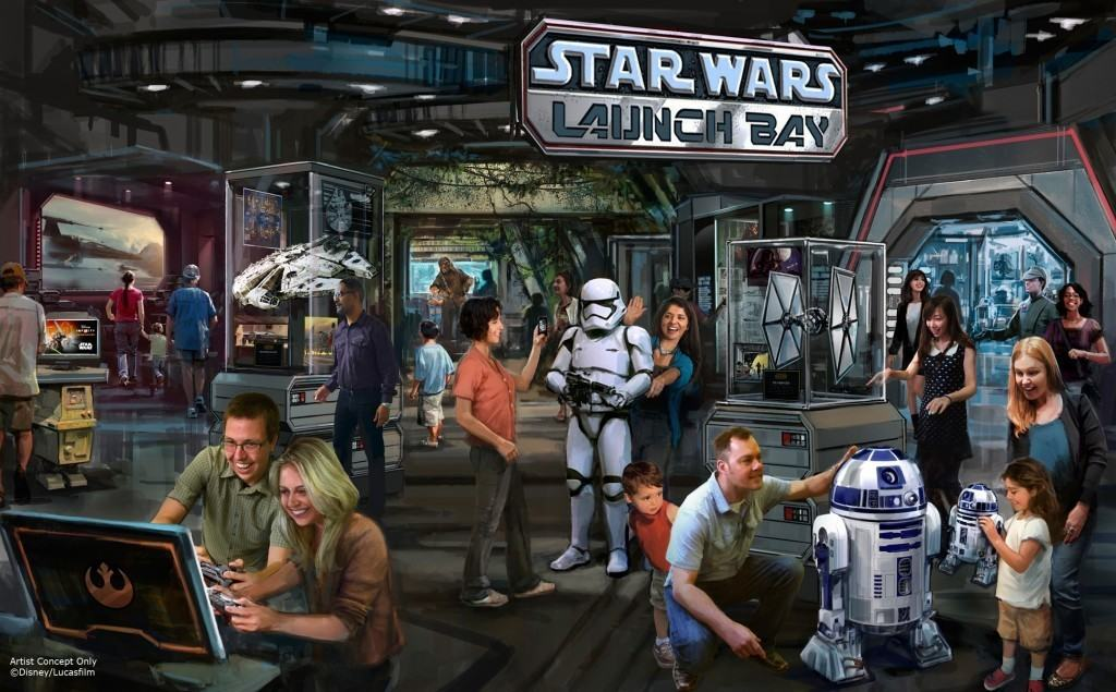Launch Bay - Season of the Force
