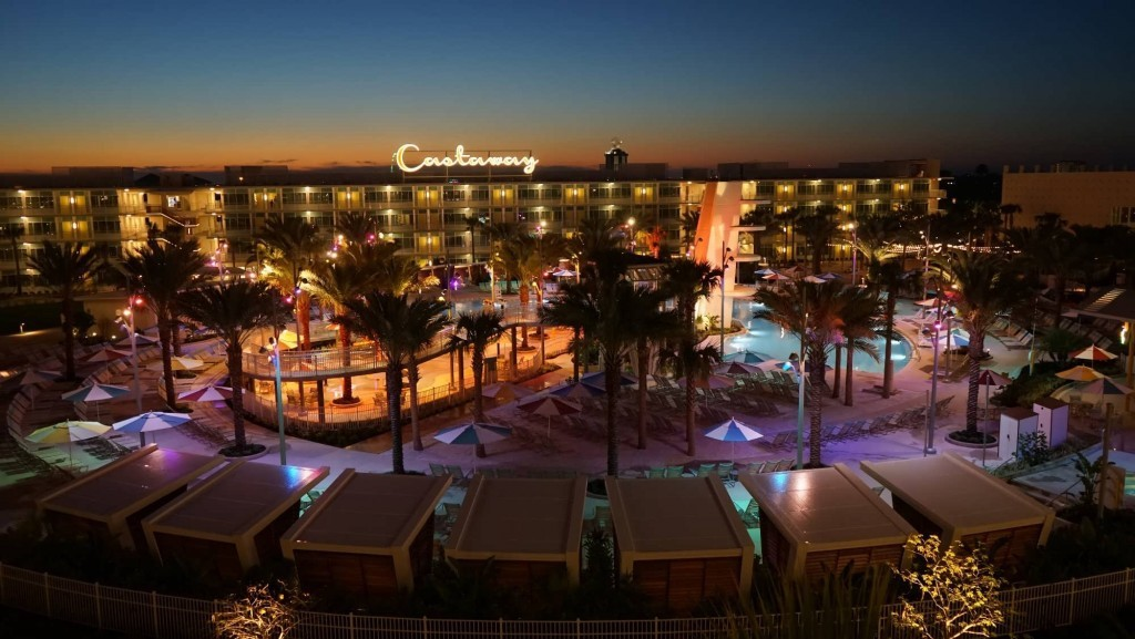 Cabana Bay Beach Resort.