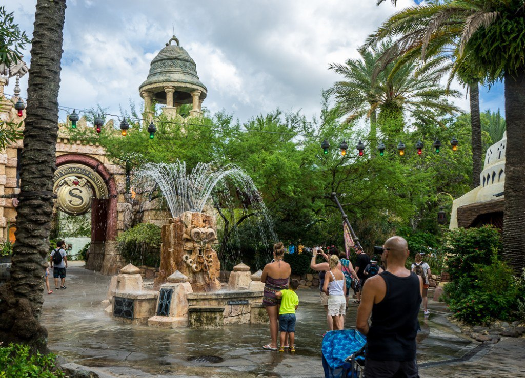 Reviews of The Mystic Fountain at Islands of Adventure