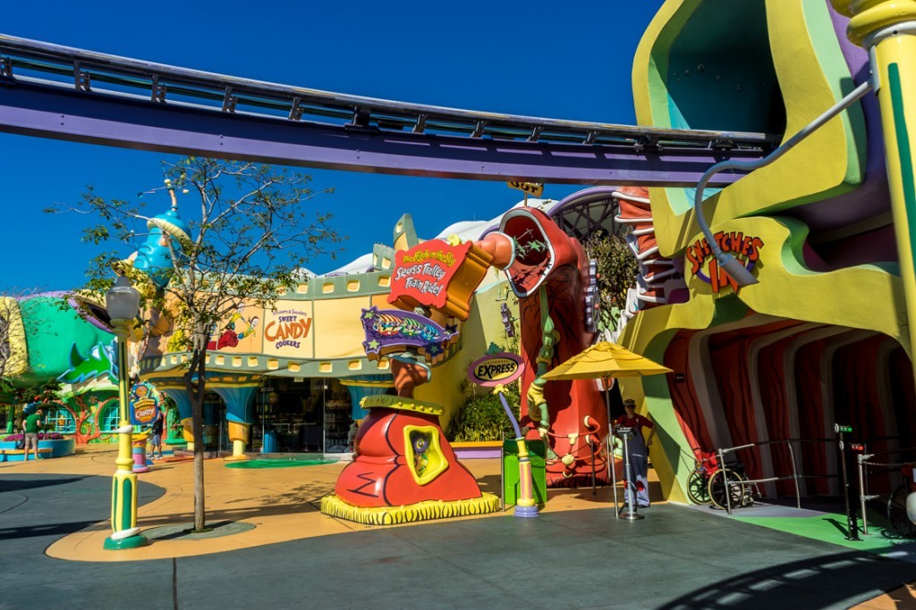 Reviews of The High in the Sky Seuss Trolley at Islands of Adventure