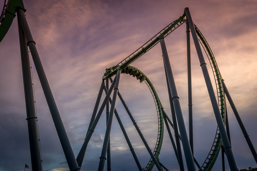 Reviews of The Incredible Hulk Coaster at Islands of Adventure