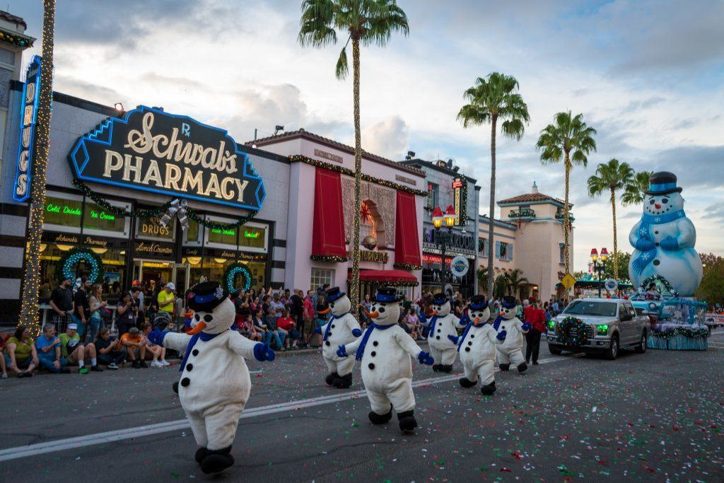 Macy's Holiday Parade at Universal Studios Florida