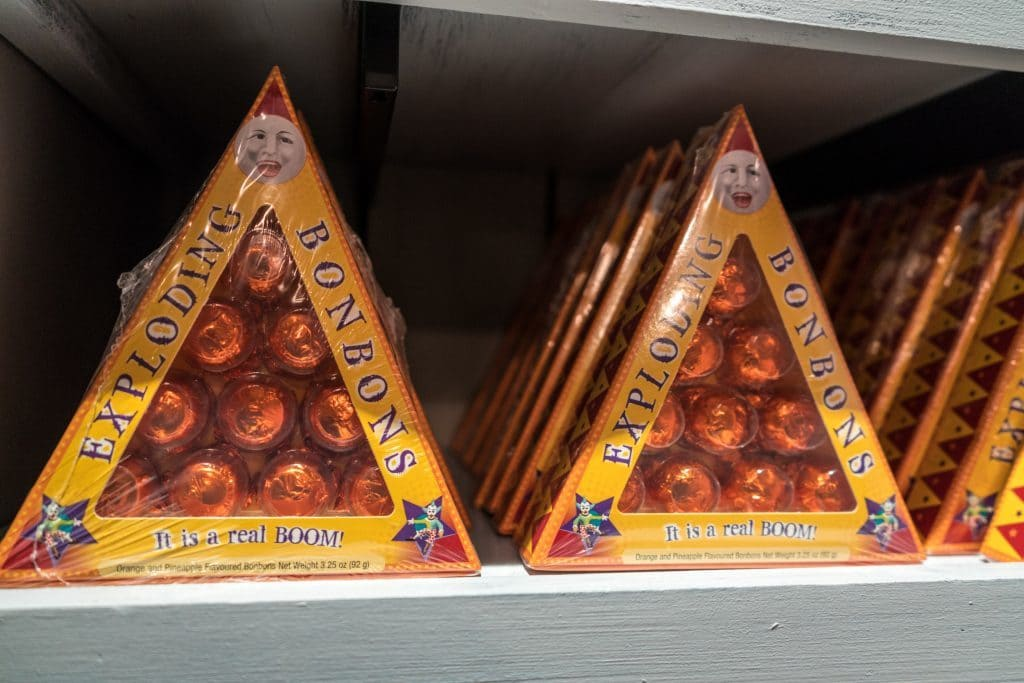 Exploding Bonbons ($9.95) from Sugarplum's Sweetshop at The Wizarding World of Harry Potter - Diagon Alley
