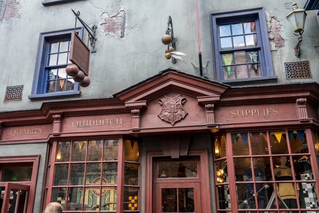 Quality Quidditch Supplies at the Wizarding World of Harry Potter - Diagon Alley.