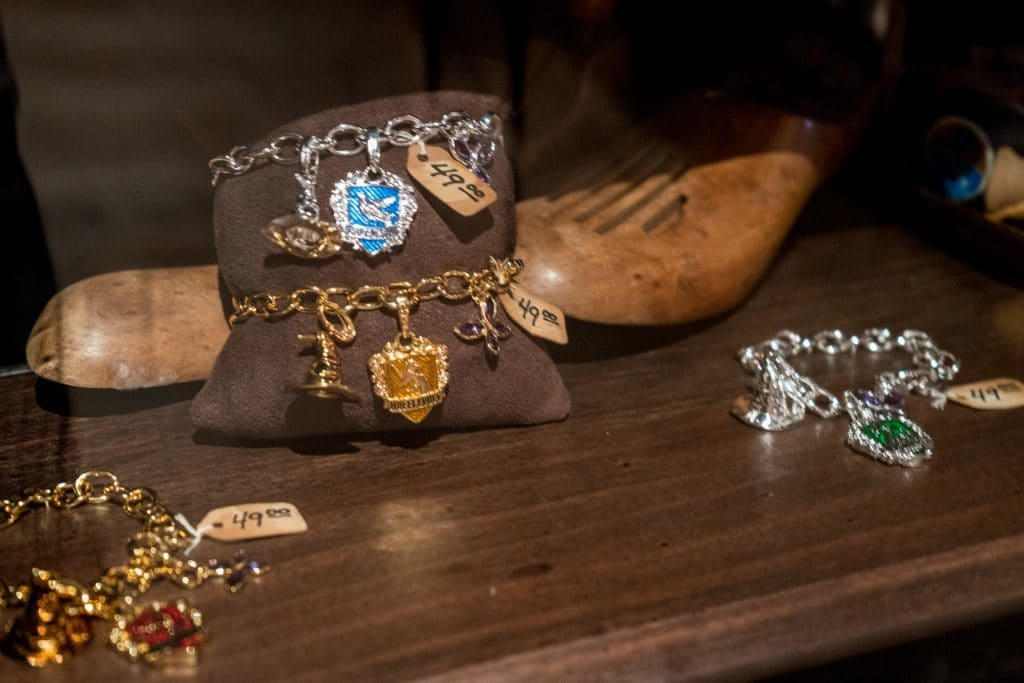 Madam Malkin's Robes for All Occasions merchandise at the Wizarding World of Harry Potter - Diagon Alley.