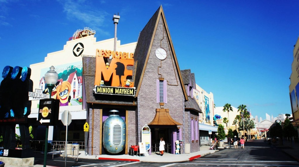 Despicable Me: Minion Mayhem at Universal Studios Florida.