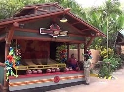 Jurassic Park carnival games at Islands of Adventure.
