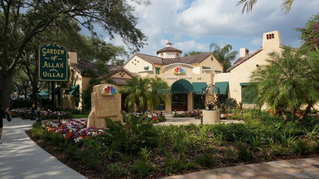 NBC Media Center at Universal Studios Florida.
