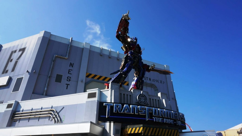 Transformers: The - Ride 3D at Universal Studios Florida