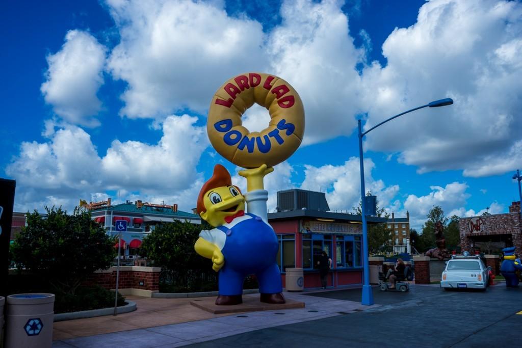 Lard Lad Donuts at Universal Studios Florida
