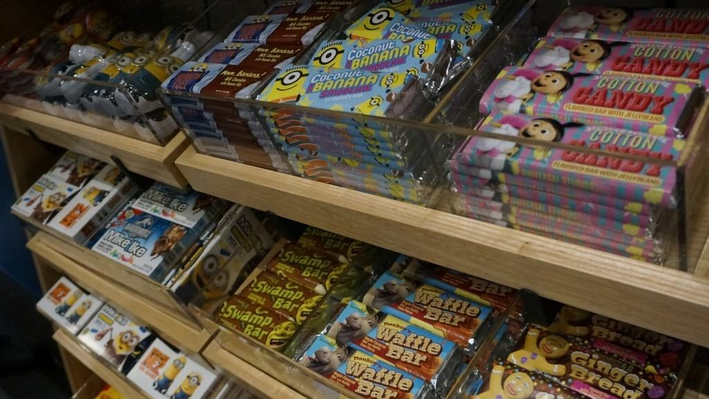 small sampling of the large character candy bar collection