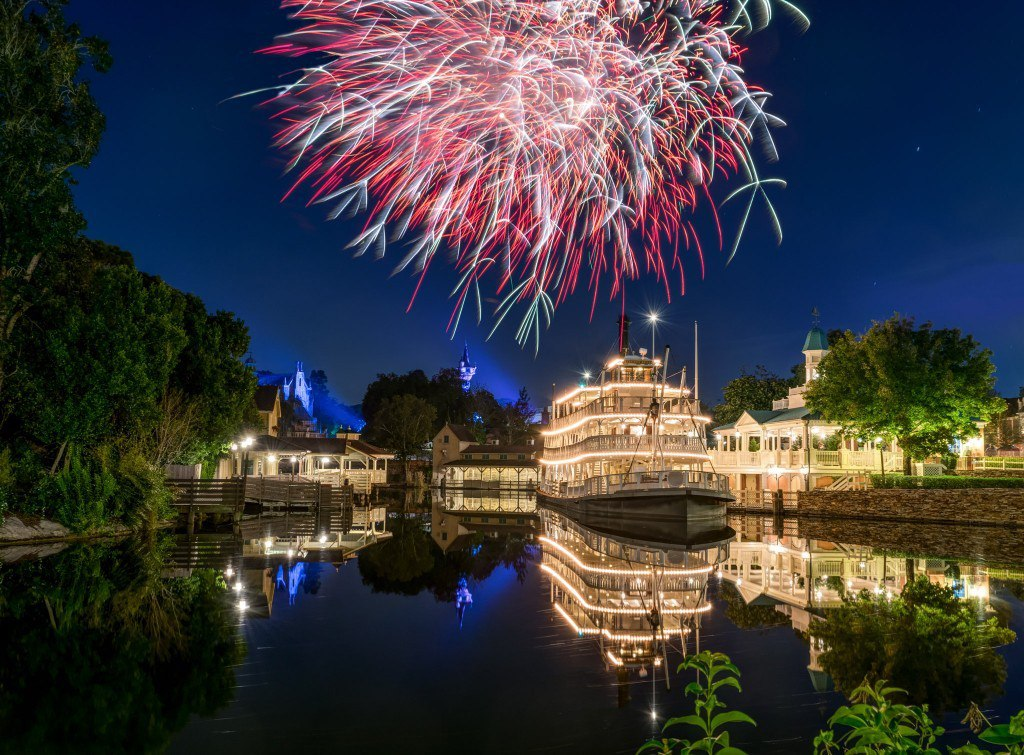 Fireworks at The Liberty Belle