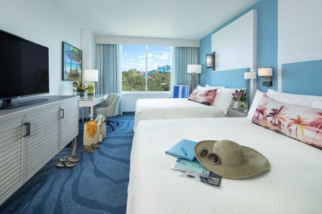 Loews Sapphire Falls at Universal Orlando Standard Guest Room