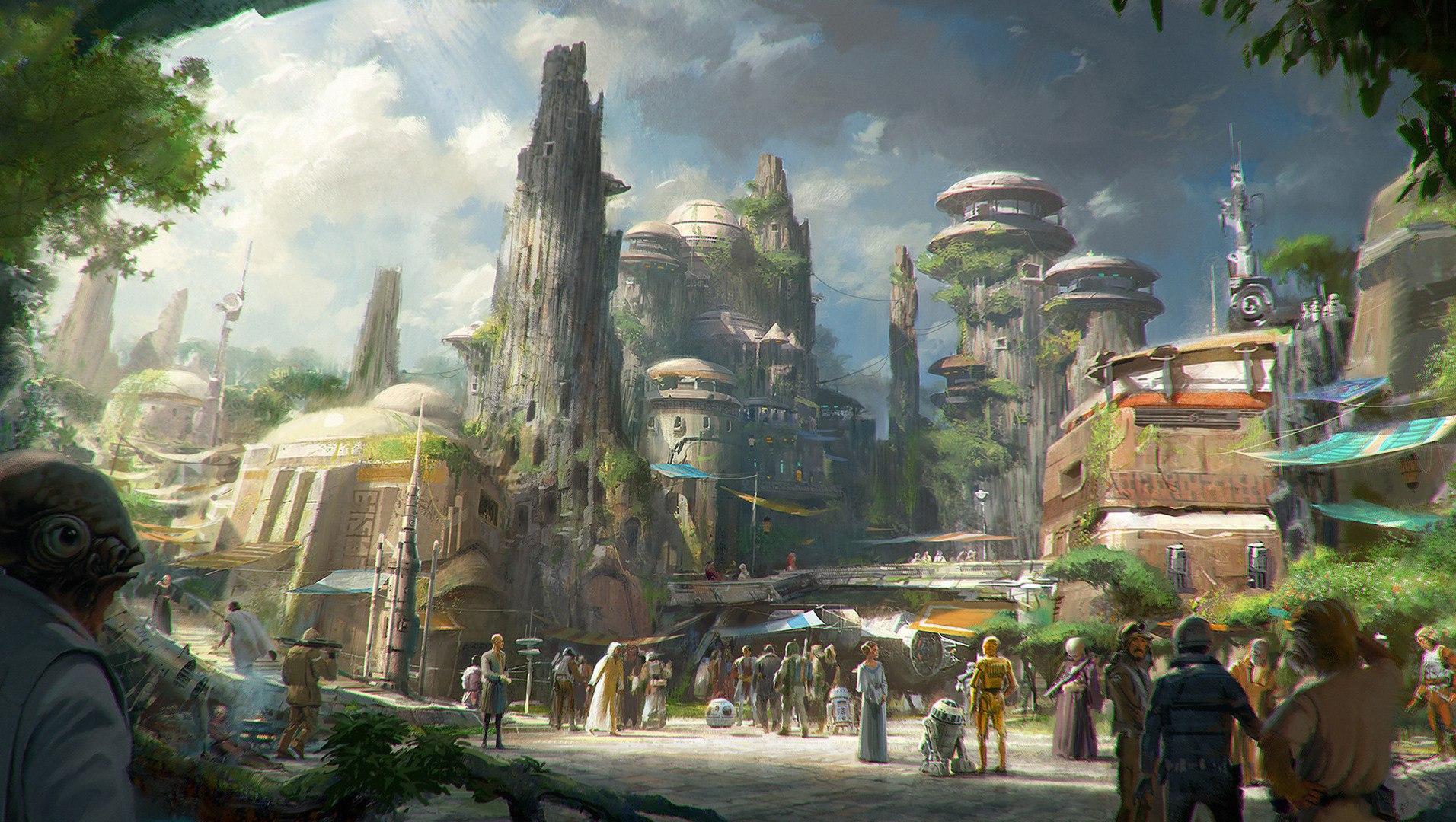 Star Wars Land: Our first glimpse of its layout and attractions