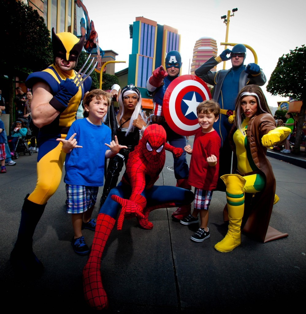 Marvel Super Hero Island at Islands of Adventure