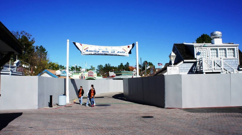 Amity walkthrough the day after JAWS closed (January 3, 2012).