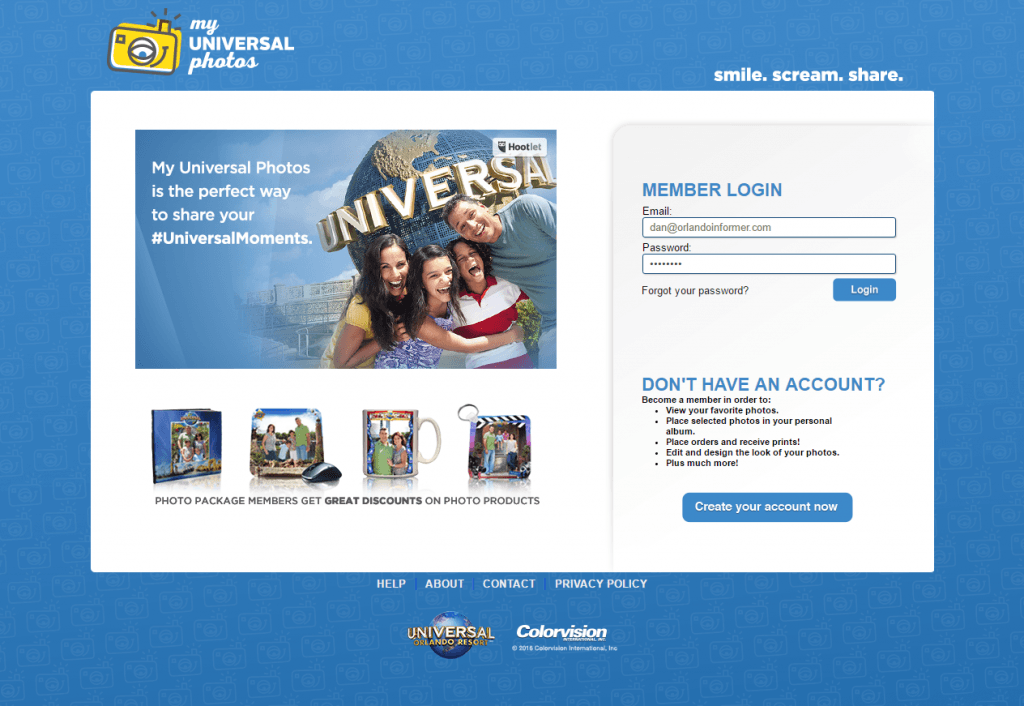 My Universal Photos Ride Photos Complete Guide - Printable invoice template free universal studios store online