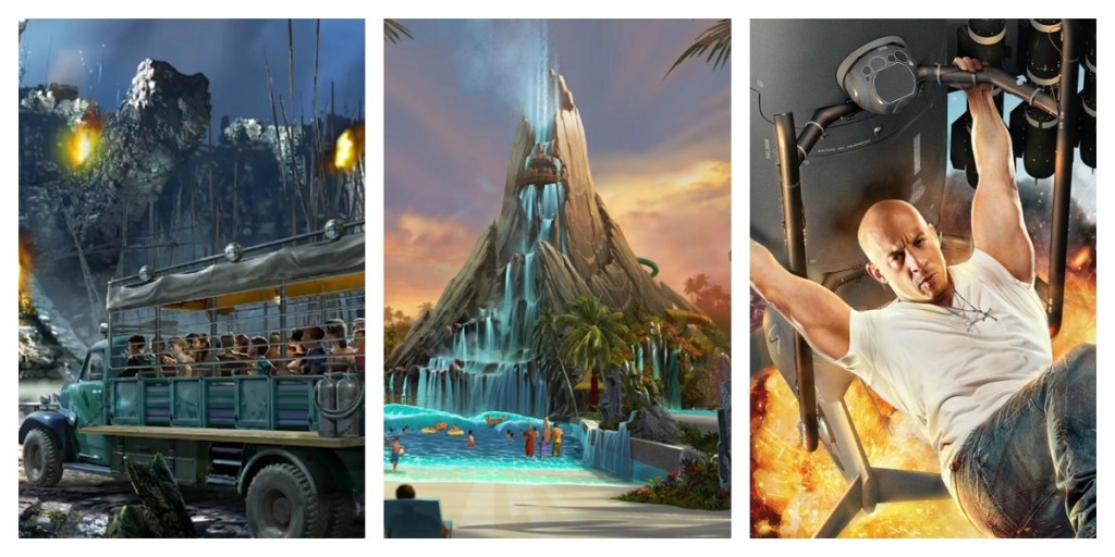 Skull Island, Volcano Bay, and Fast & Furious - coming soon!