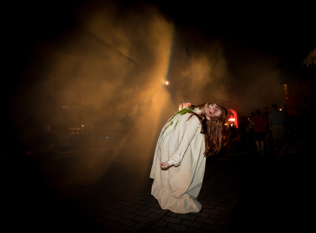 A scareactor at Halloween Horror Nights 2015
