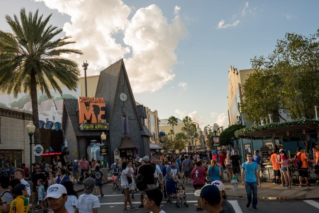 Crowds at Universal Orlando