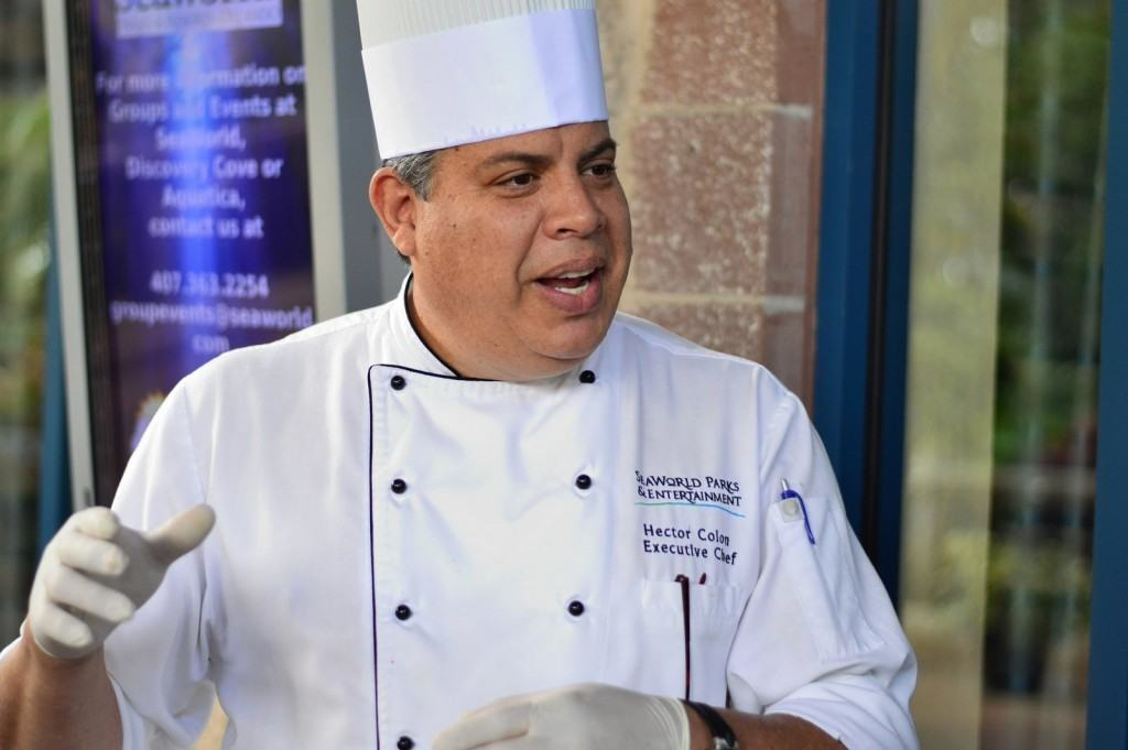 Executive Chef Hector Colon
