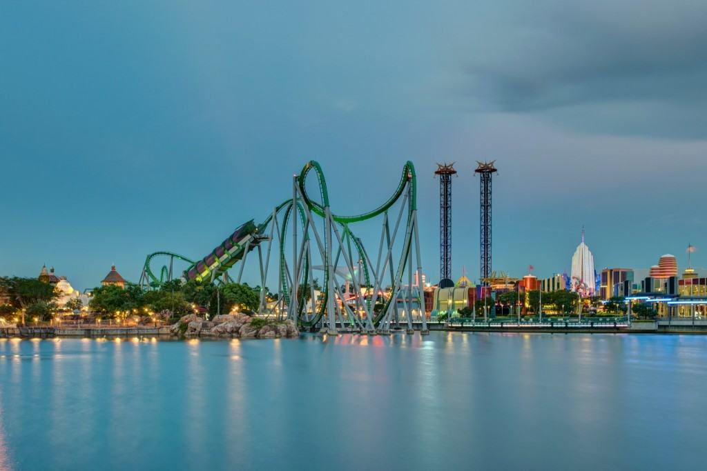 Hulk from Islands of Adventure lagoon