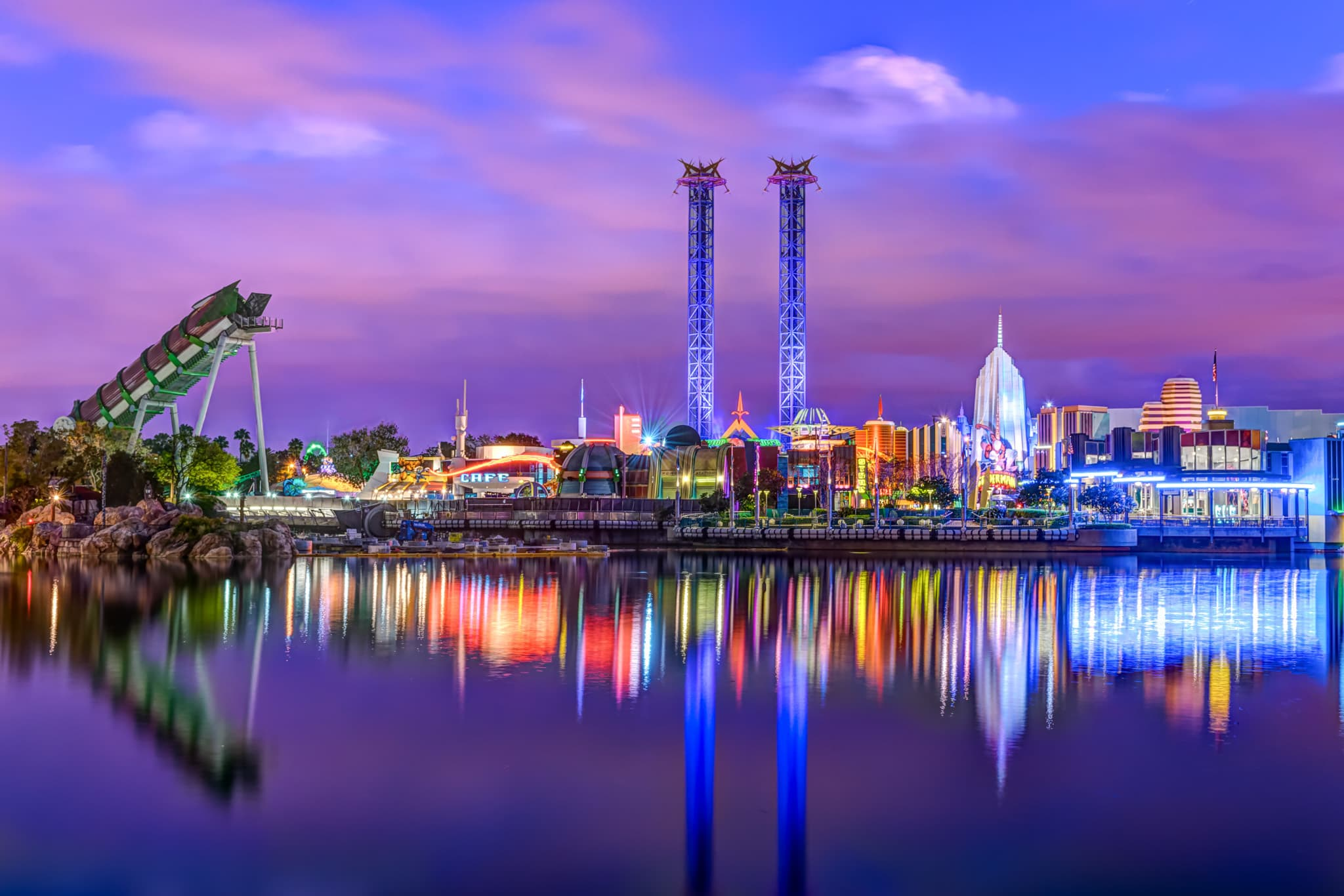 9 incredible photos around the water at Islands of Adventure