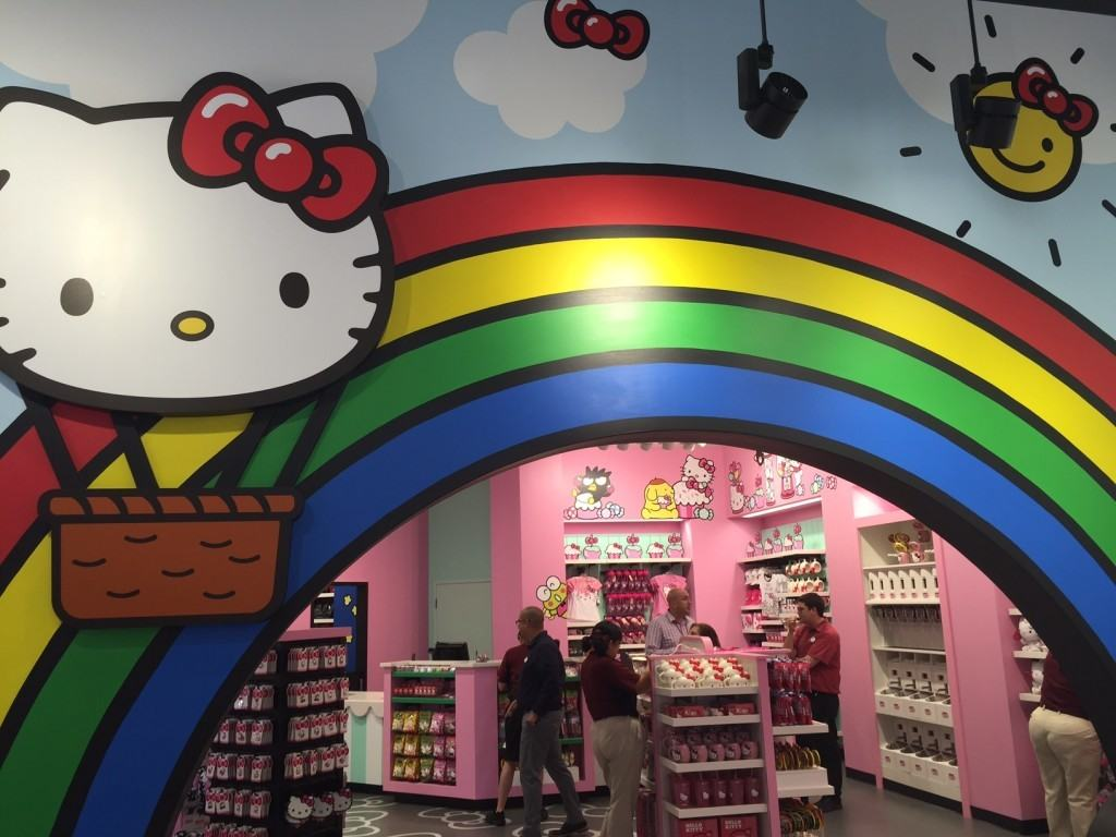 Hello Kitty at Universal Studios Florida