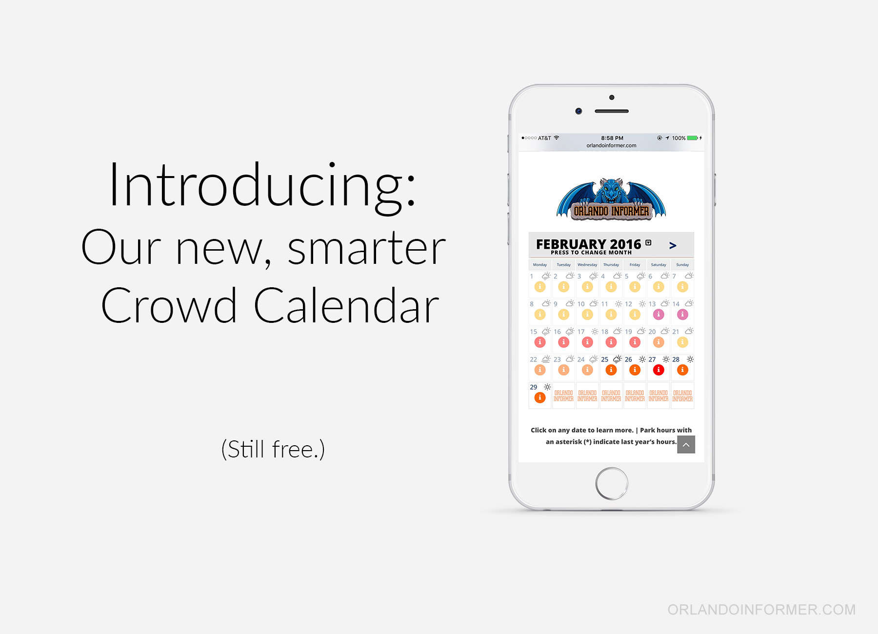 The world's best Universal crowd calendar just got better