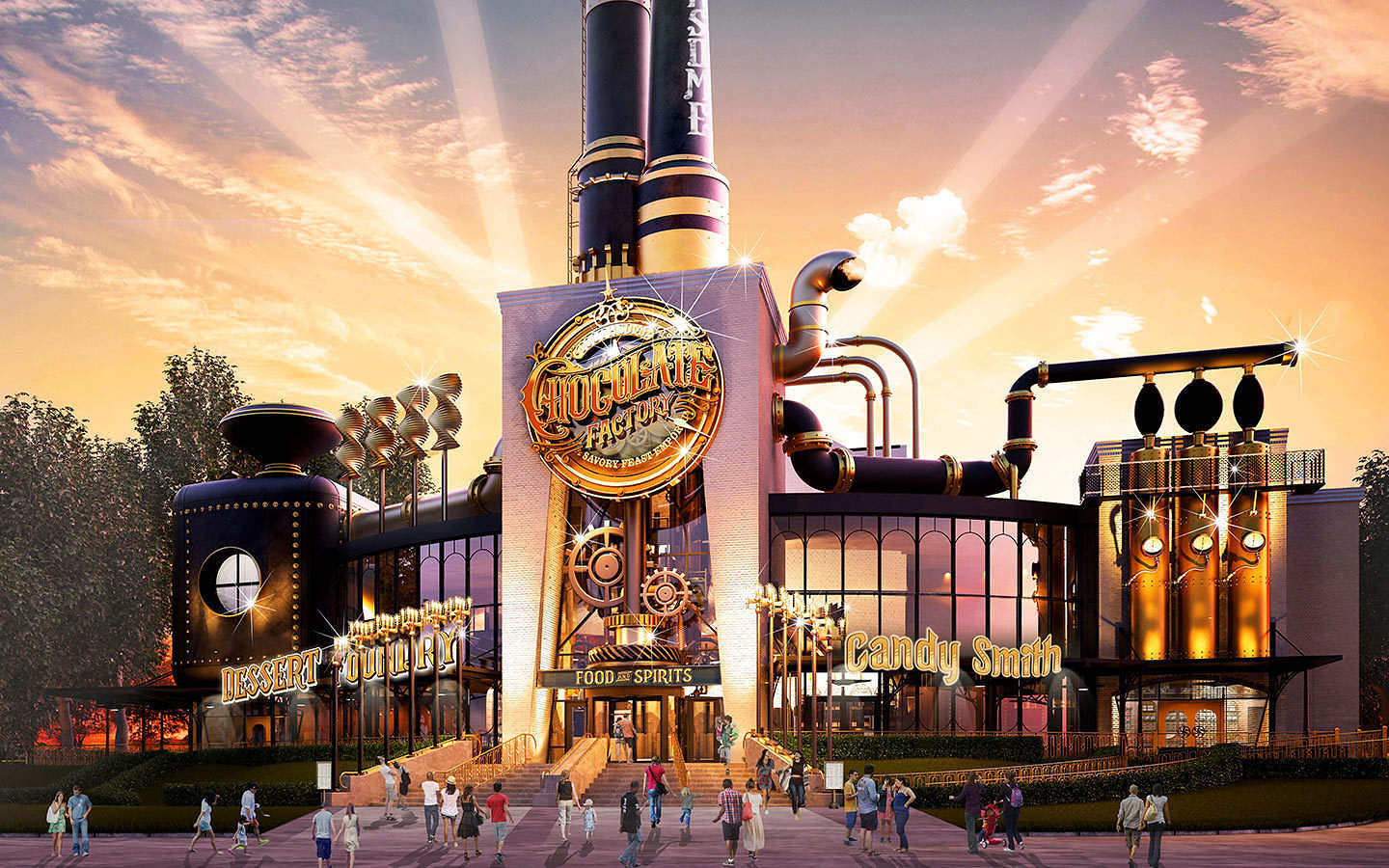 Universal Orlando opens their own chocolate factory later this year