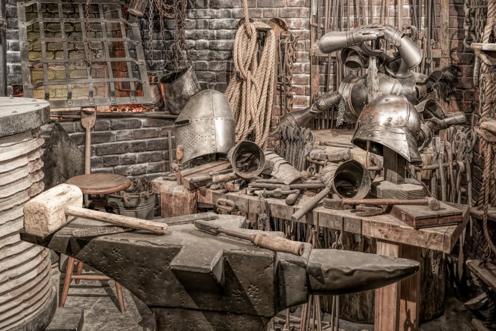 Blacksmith at The Wizarding World of Harry Potter - Diagon Alley