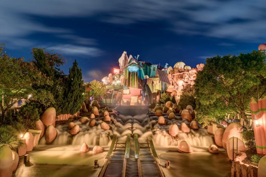 Dudley Do-Right Ripsaw Falls at Universal Orlando