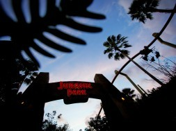 Jurassic Park gate at Islands of Adventure
