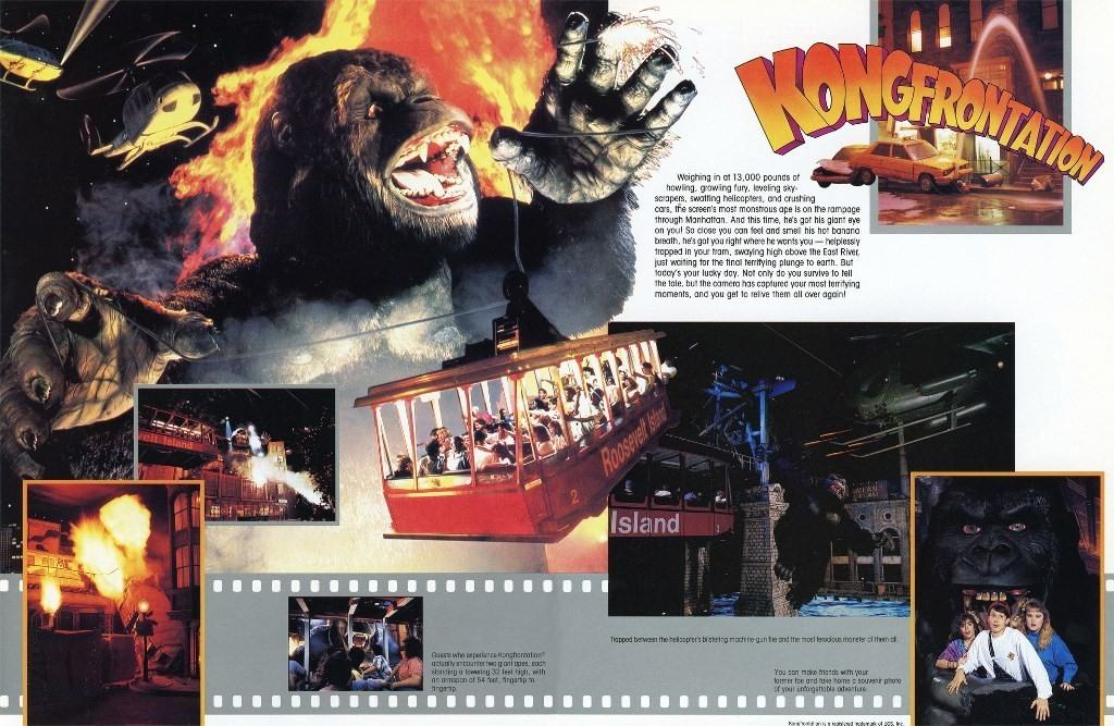 Kongfrontation - Universal Studios Florida in 1990