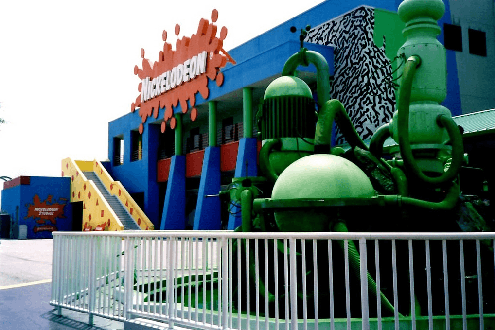 Nickelodeon Studios - Universal Studios Florida in 1990