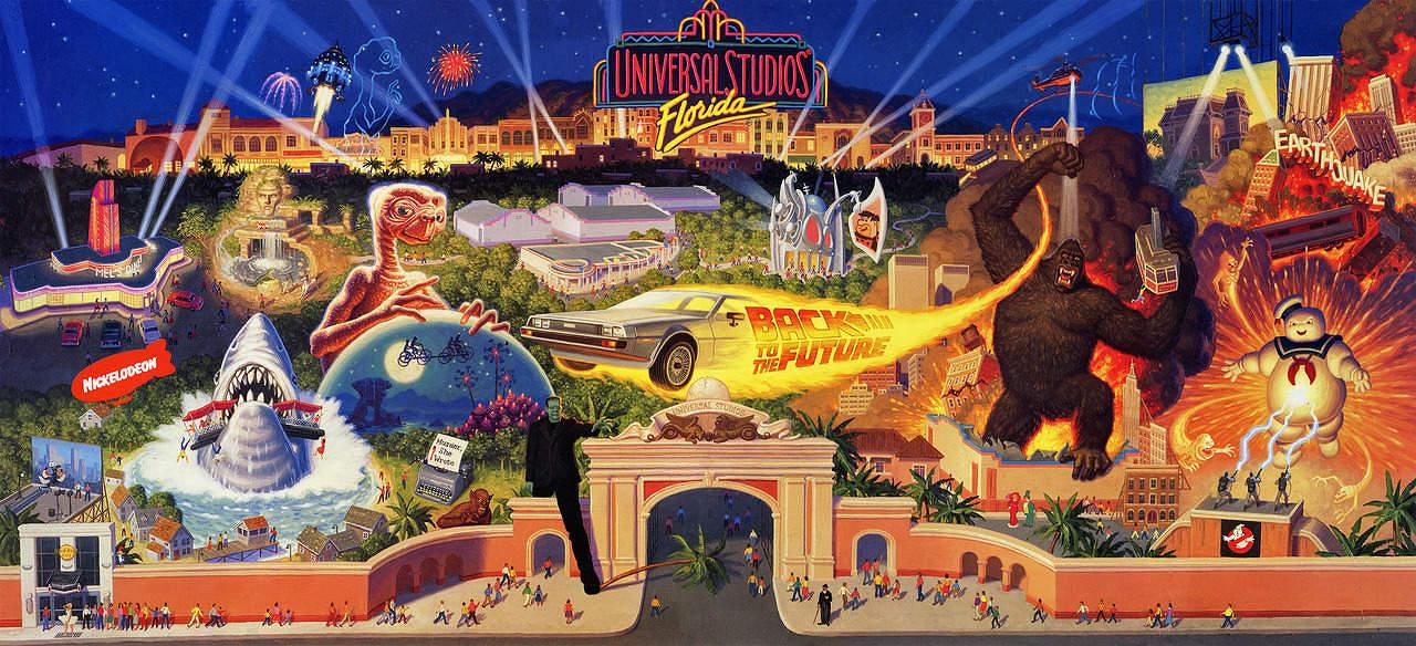 Let S Tour 1990 S Universal Studios Florida