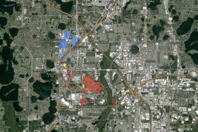 Universal Orlando Resort's newly purchased land